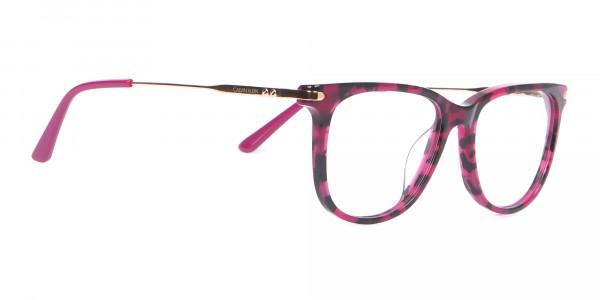 Calvin Klein CK19704 Wayfarer Glasses In Berry Tortoise-2
