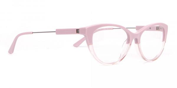 Calvin Klein CK19706 Women Two Tone Cat-Eye Glasses Pink-2