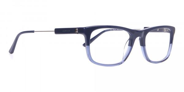 Calvin Klein CK19707 Two-Tone Rectangular Glasses Navy-2