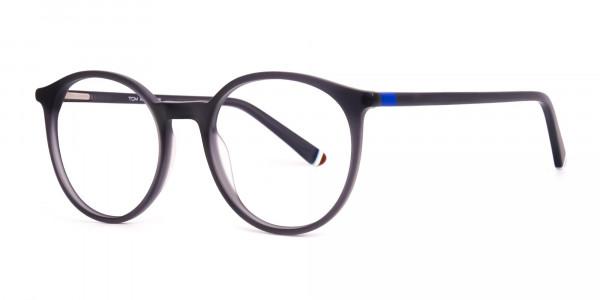 matte-and-dark-grey round-full-rim-glasses-frames-2