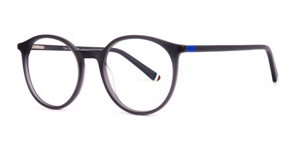 matte-and-dark-grey round-full-rim-glasses-frames-2