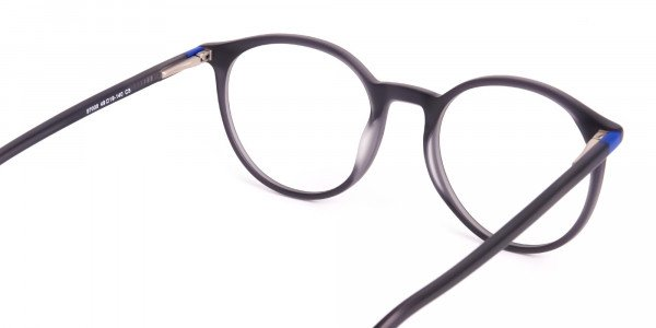 matte-and-dark-grey round-full-rim-glasses-frames-5