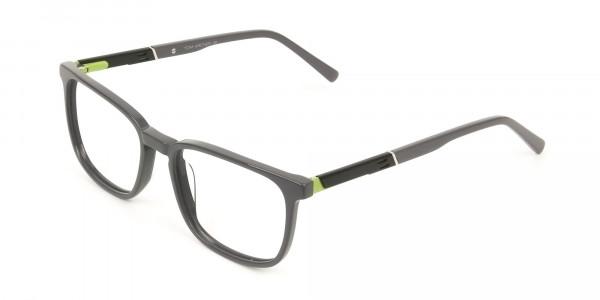 Lightweight Grey Sport style Rectangular glasses - 3