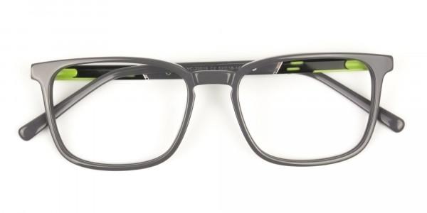 Lightweight Grey Sport style Rectangular glasses - 6