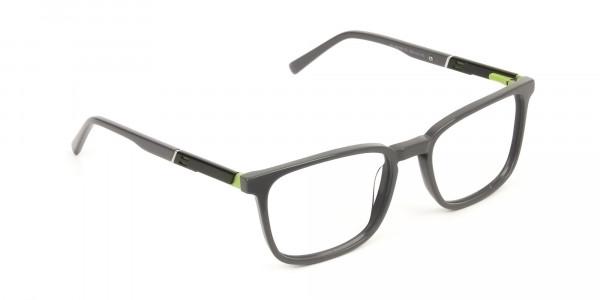 Lightweight Grey Sport style Rectangular glasses - 2