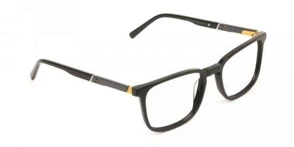 Lightweight Dark Brown Sport Style Rectangular Glasses - 2