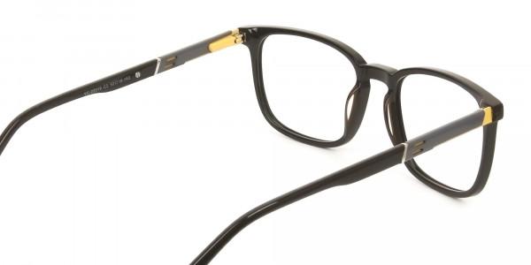 Lightweight Dark Brown Sport Style Rectangular Glasses - 5