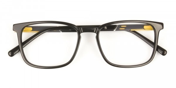 Lightweight Dark Brown Sport Style Rectangular Glasses - 6