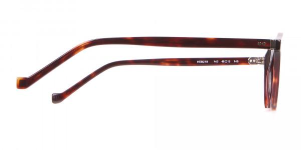 HACKETT Bespoke HEB218 Petite Round Glasses In Tortoise -4