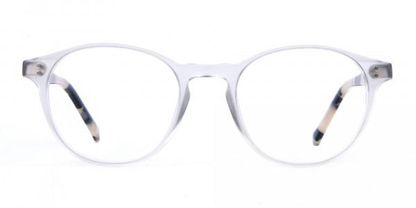 HACKETT Bespoke HEB218 Petite Round Glasses Transparent-1