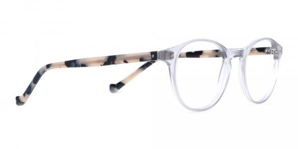 HACKETT Bespoke HEB218 Petite Round Glasses Transparent-2