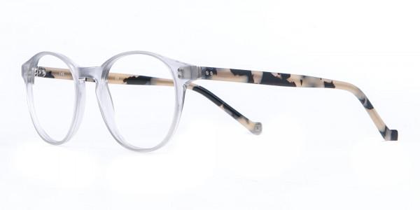 HACKETT Bespoke HEB218 Petite Round Glasses Transparent-3
