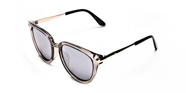 Show off Gold Sunglasses -2