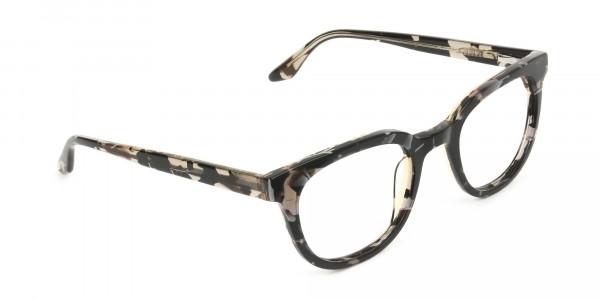 Havana & Tortoise Vintage Horn Glasses - 2