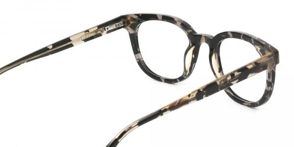 Havana & Tortoise Vintage Horn Glasses - 5