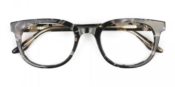 Havana & Tortoise Vintage Horn Glasses - 7
