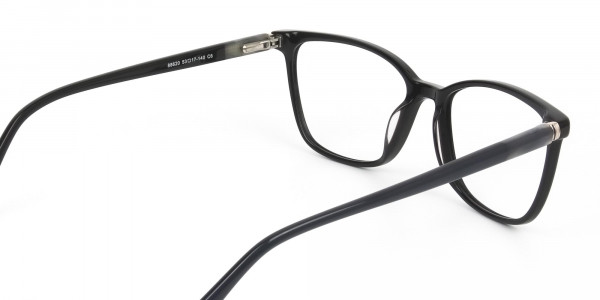 Acetate Blue Spectacles in Rectangular - 5