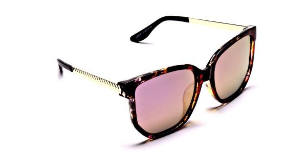 Classy Tortoiseshell Sunglasses -1