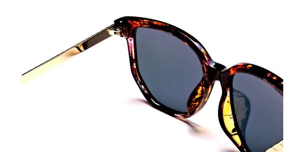 Classy Tortoiseshell Sunglasses -4