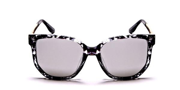 Black, Gold and Silver Sunglasses