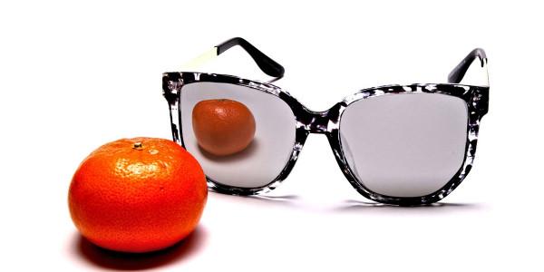 Black, Gold and Silver Sunglasses -5