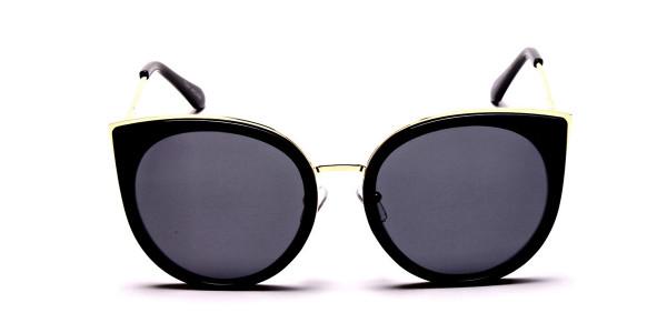 Beautiful Gold and Black sunglasses