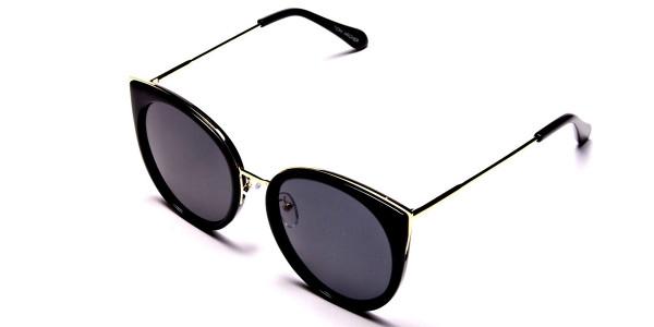 Beautiful Gold and Black sunglasses -2