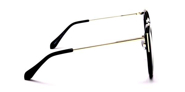 Beautiful Gold and Black sunglasses -3