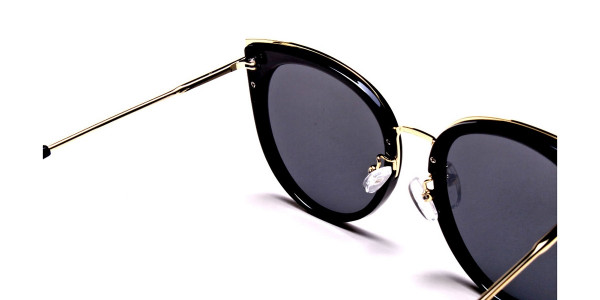 Beautiful Gold and Black sunglasses -4
