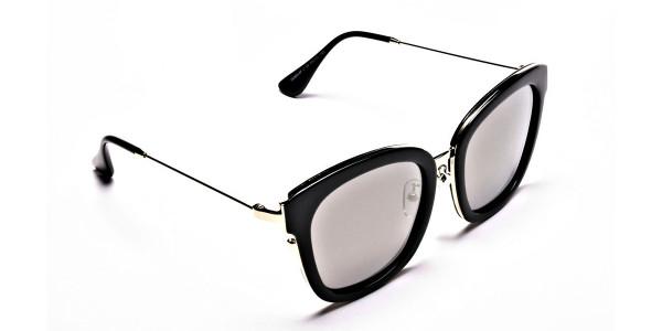 Sunglasses Black & Gold -1