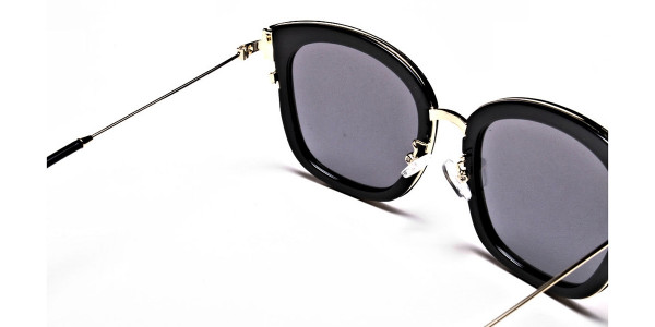Sunglasses Black & Gold -4
