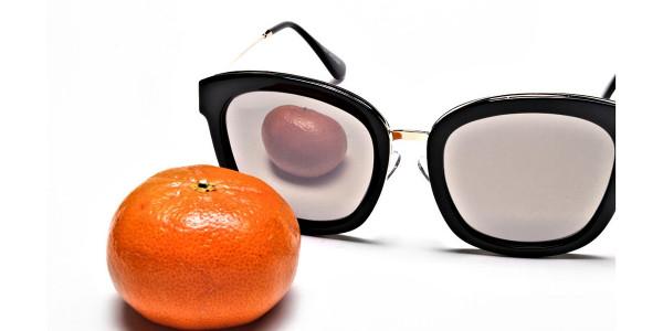 Sunglasses Black & Gold -5