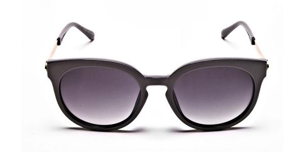 Brown & Gold Sunglasses