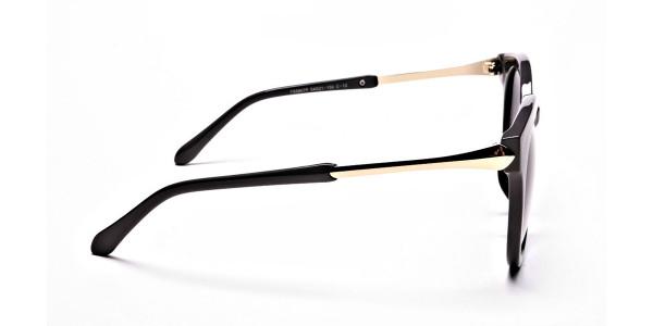 Brown & Gold Sunglasses -3