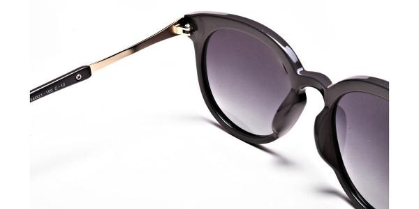Brown & Gold Sunglasses -4