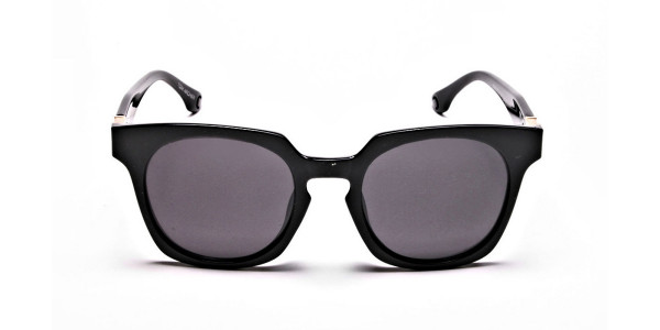 Dark Black & Grey Sunglasses
