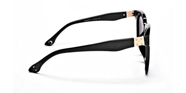 Dark Black & Grey Sunglasses -3