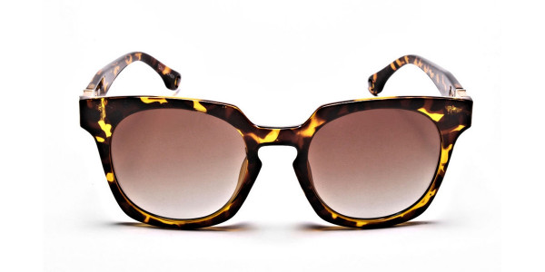 Tortoiseshell Leopard Sunglasses