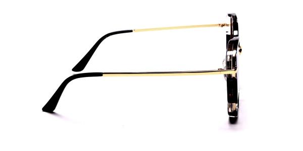 Black Colour Variations Sunglasses - 5