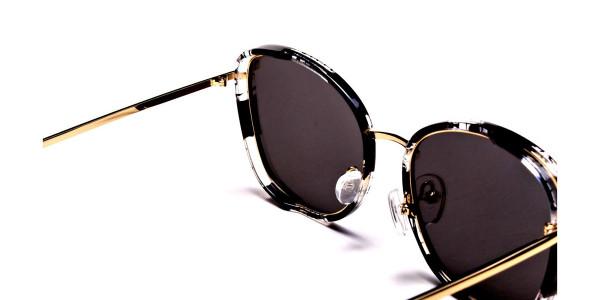 Black Colour Variations Sunglasses - 4
