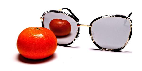 Black Colour Variations Sunglasses - 3