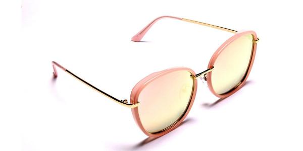 Rose Gold Sunglasses - 1