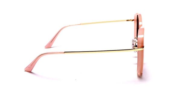 Rose Gold Sunglasses - 3