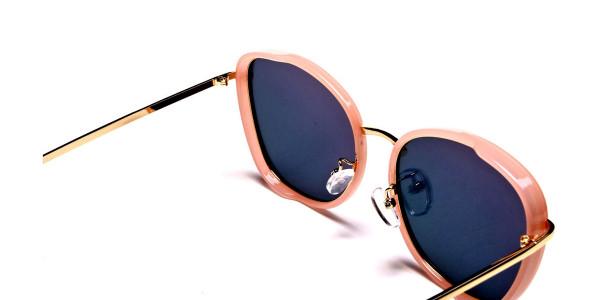 Rose Gold Sunglasses - 4
