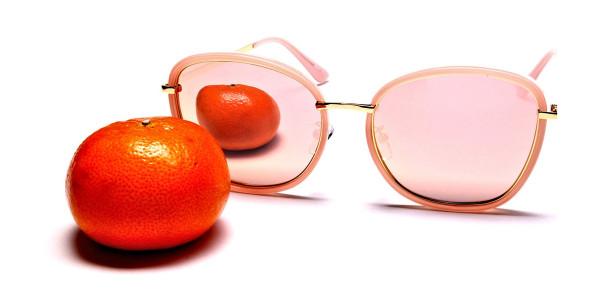 Rose Gold Sunglasses - 5