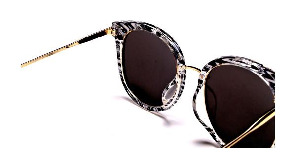 Striking Unique Design Sunglasses -4