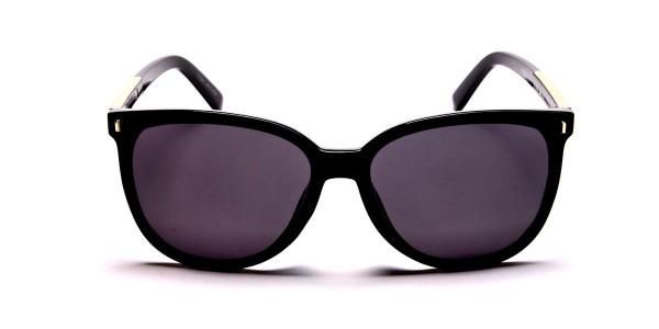 Black & Gold Chic Sunglasses