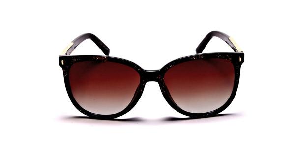 Black & Glitter Sunglasses