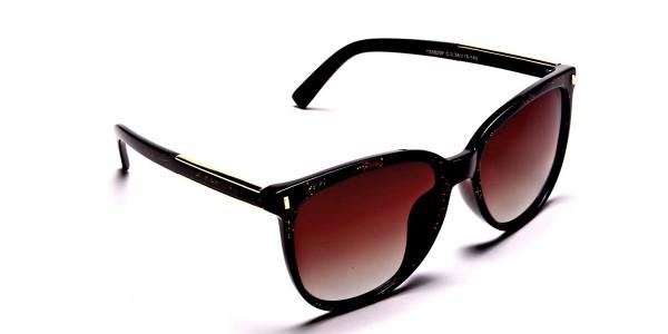 Black & Glitter Sunglasses -1