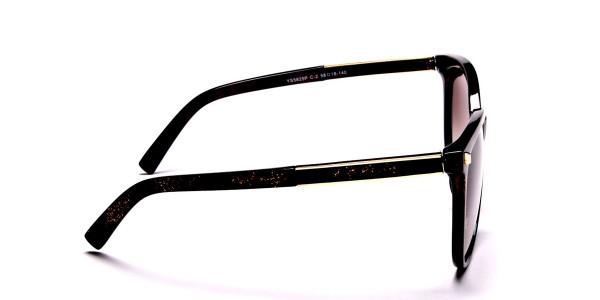 Black & Glitter Sunglasses -3